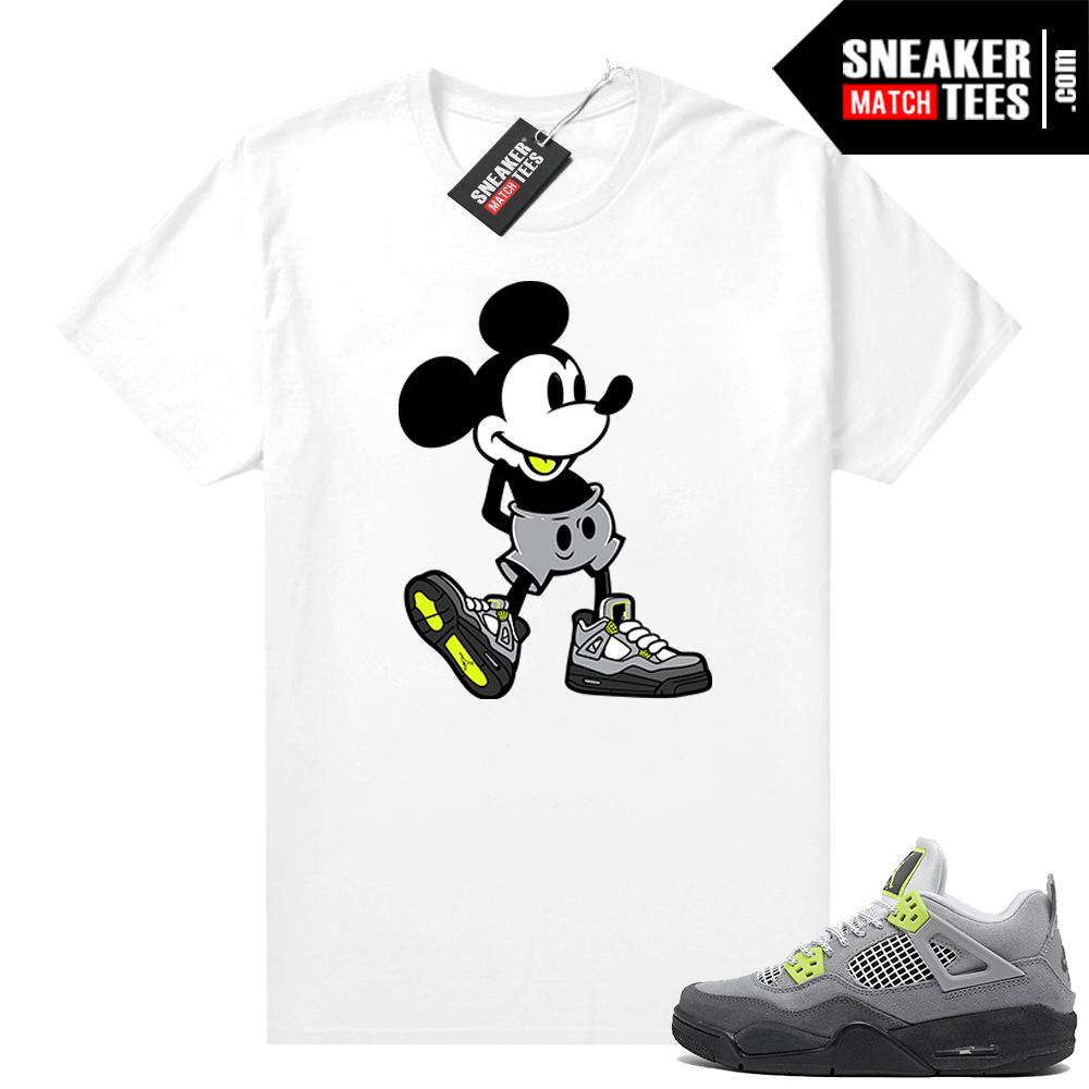Neon 4s Air Max 95 Matching Shirt Outfit Shirts To Match Jordans