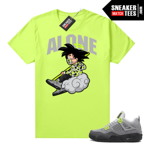 Neon 95 Jordan 4 shirts Volt Alone