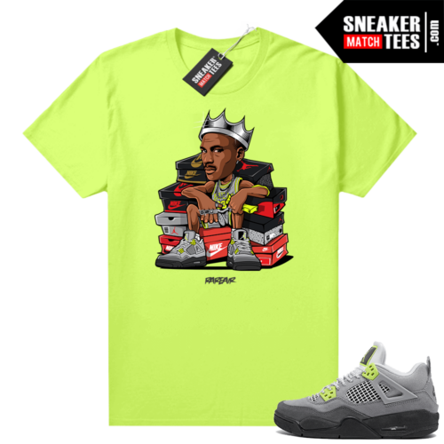 Neon 95 Jordan 4 shirts Volt Sneaker King