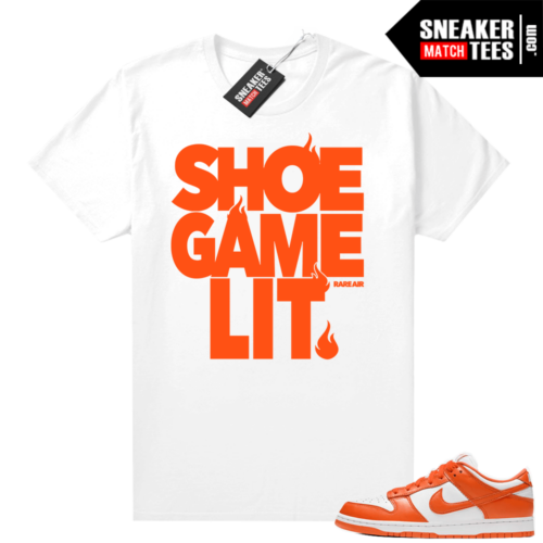 Nike Dunk Low Syracuse shirt Shoe Game Lit