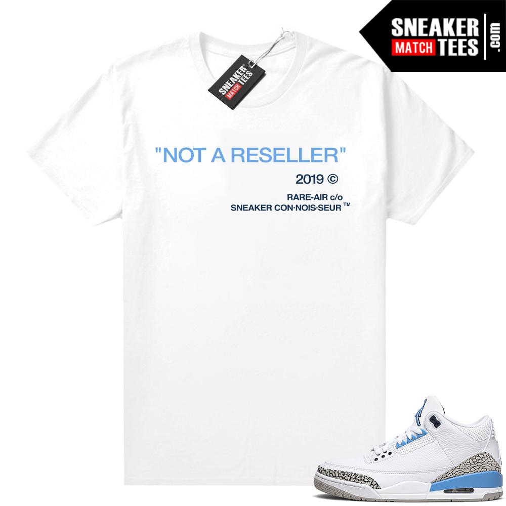 Retro 3 Jordan shirt match Not A Reseller