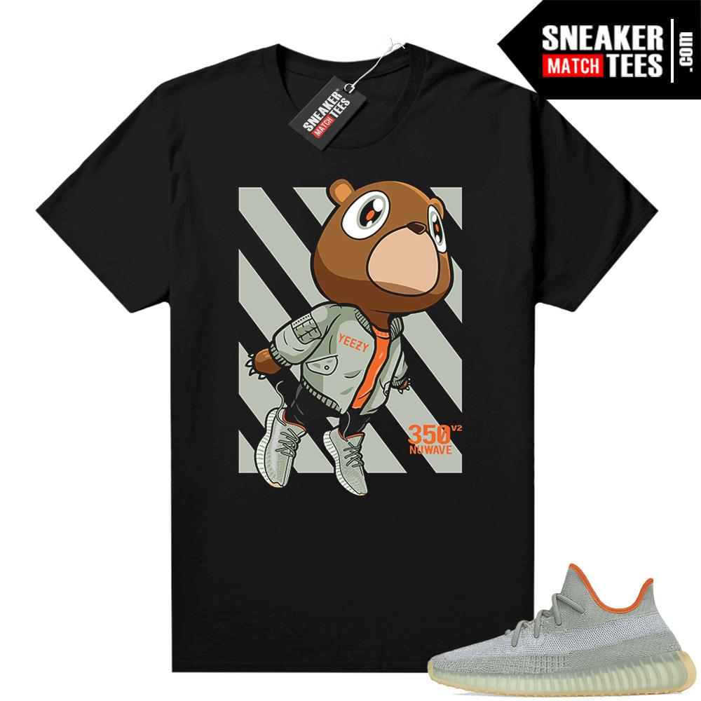 Shirts to match Desert Sage Yeezy 350 Black Fly Bear