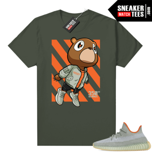 Shirts to match Desert Sage Yeezy 350 Olive Fly Bear