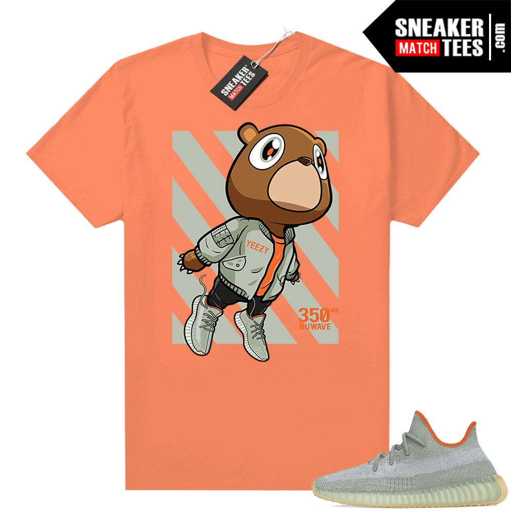 Shirts to match Desert Sage Yeezy 350 Orange Fly Bear