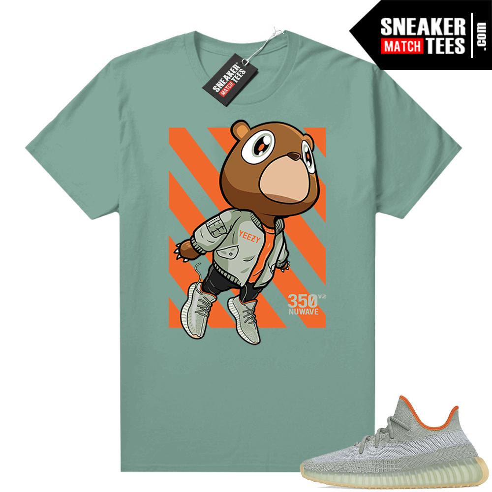 Shirts to match Desert Sage Yeezy 350 Sage Green Fly Bear