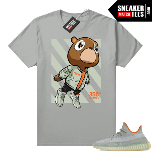 Shirts to match Desert Sage Yeezy 350 Silver Fly Bear