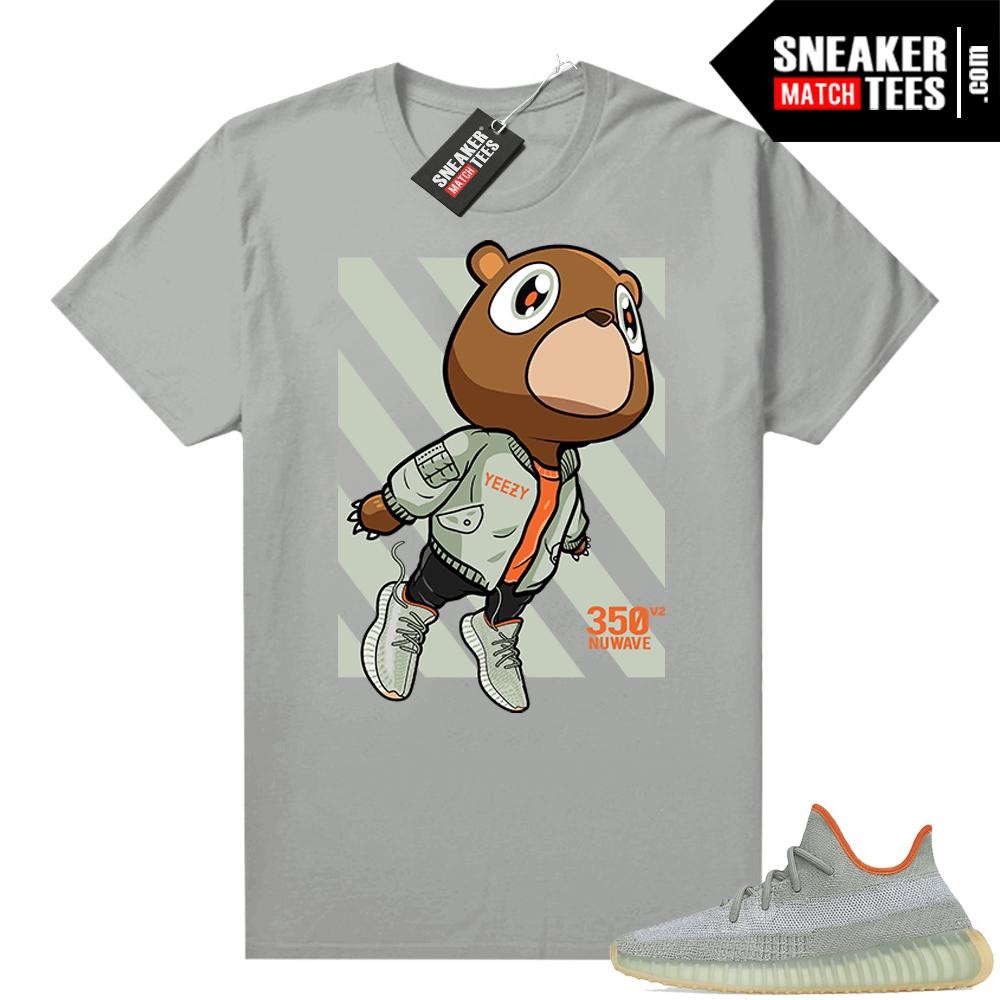 Shirts to match Desert Sage Yeezy 350 Silver Fly Bear