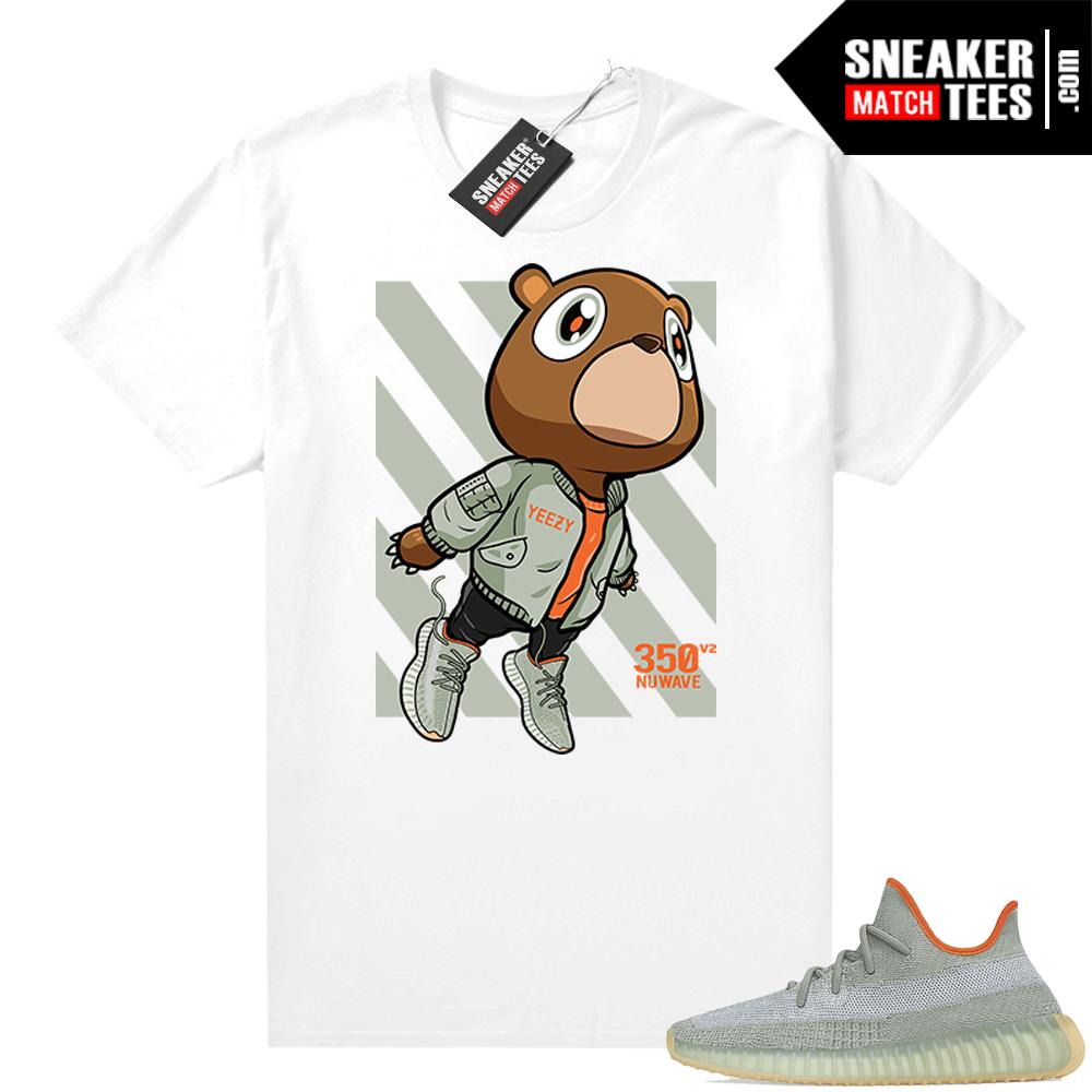 Shirts to match Desert Sage Yeezy 350 White Fly Bear