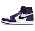 Sneaker tees Jordan 1 Court Purple
