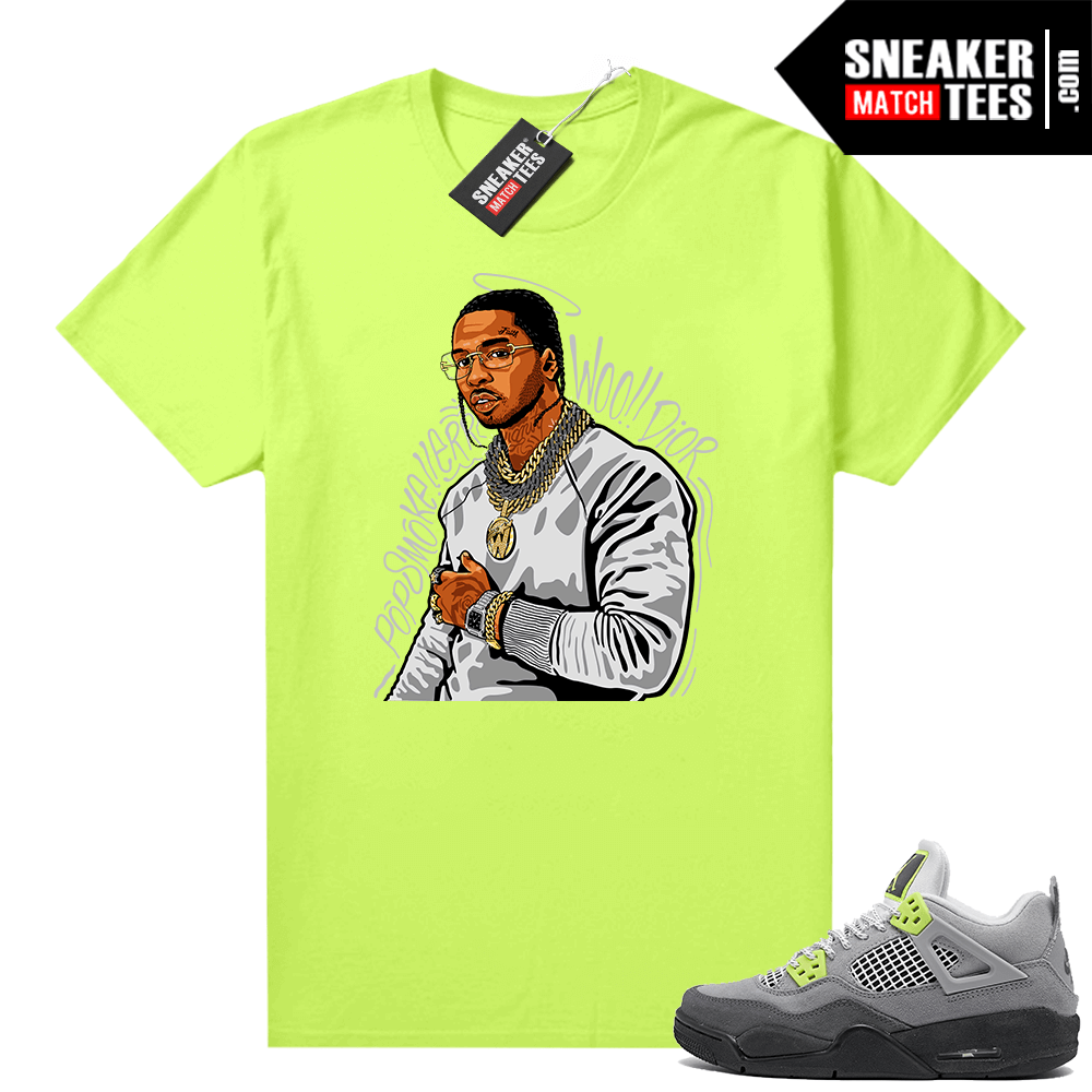 Sneakers Outfit Neon 4s Air Max 95 Shirt Sneaker Match Tees Shop