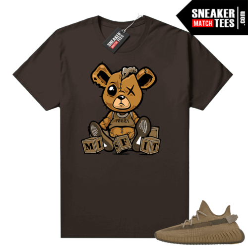 Yeezy 350 Earth Shirt Chocolate Misfit Teddy