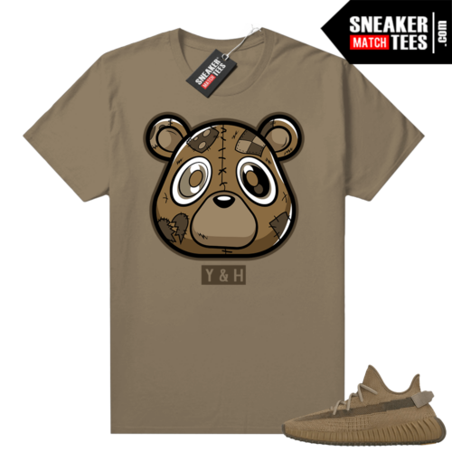 Yeezy 350 Earth Shirt Young and Heartless Bear