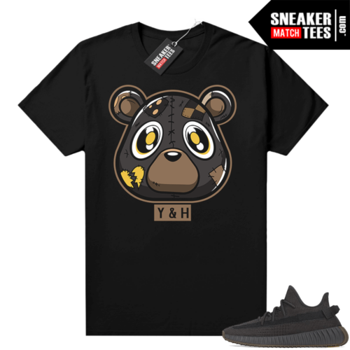 Yeezy Boost 350 V2 Cinder Sneaker tees shirt Black Heartless Bear