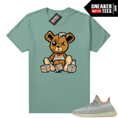 Yeezy Boost 350 V2 shirt Heather Green Misfit Teddy