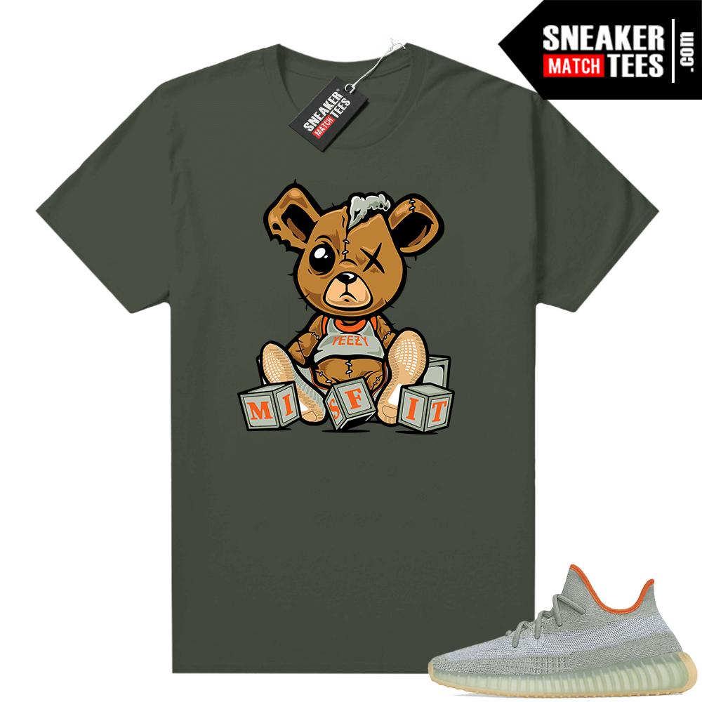 Yeezy Boost 350 V2 shirt Olive Green Misfit Teddy