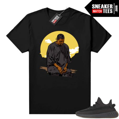 Yeezy Boost sneaker tees Cinder 350 V2 Trust God
