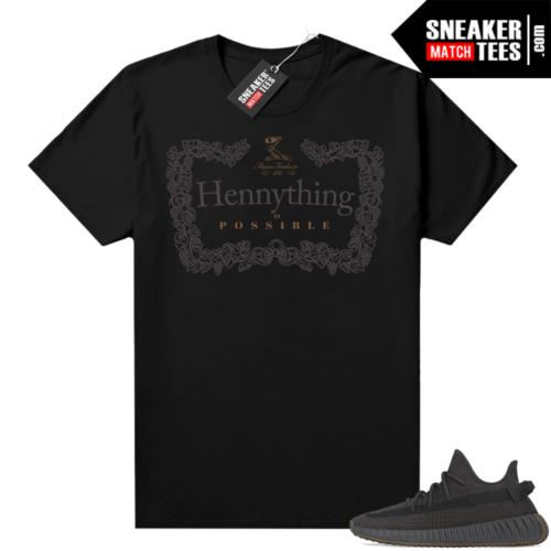Yeezy shirt Cinder 350 V2 Black Hennything