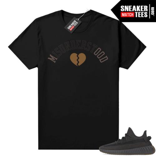 Yeezy shirt Cinder 350 V2 Black Misunderstood