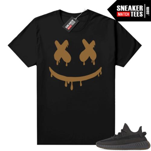 Yeezy shirt Cinder 350 V2 Black Smiley Drip