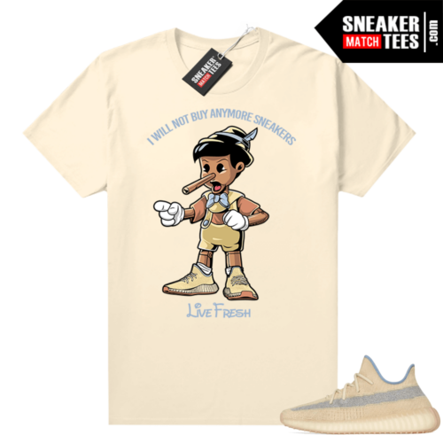 350 Boost Linen shirt Sneakerhead Pinocchio