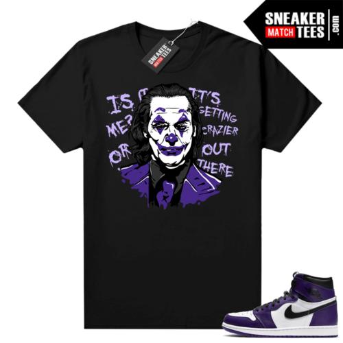 Court Purple 1s Jordan Graphic tees Joker
