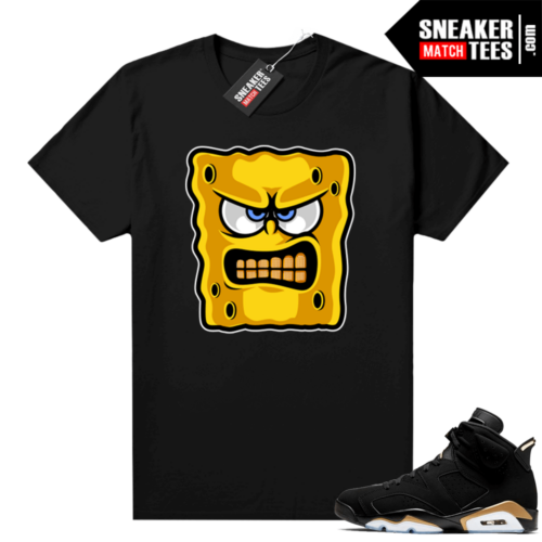 DMP 6s Graphic Tees Angry SpongeBob