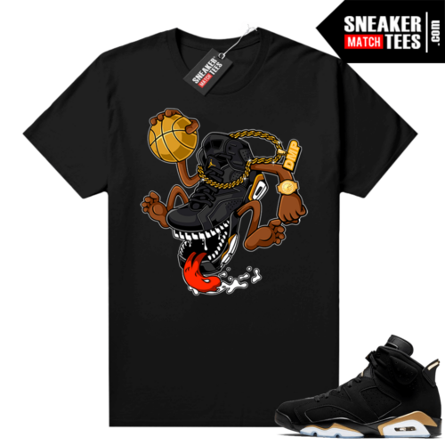 DMP 6s Graphic Tees Fly Kicks