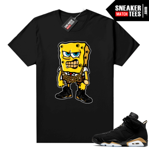 DMP 6s Graphic Tees Sponge Bob Flex