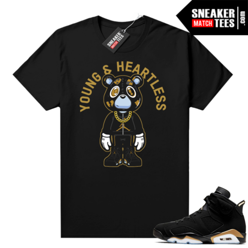 DMP 6s Graphic tees Young & Heartless Bear