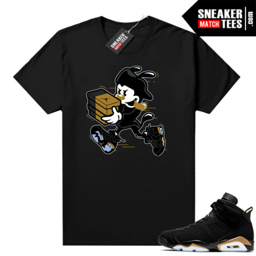 DMP 6s matching sneaker shirt Double Up