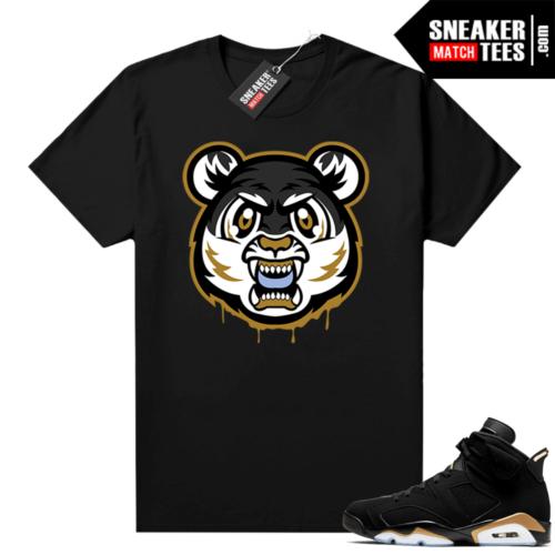 DMP 6s sneaker match shirt Tiger Gang