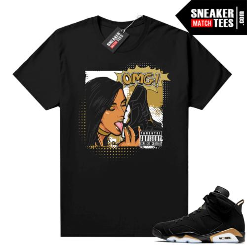 DMP 6s sneaker outfit OMG Sneakers