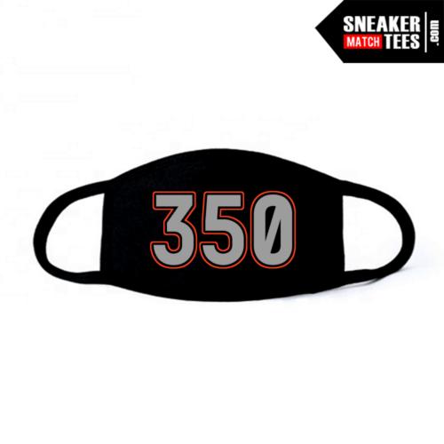 Face Mask Black Beluga Yeezy 350