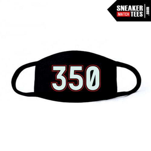 Face Mask Black Blue Tint Yeezy 350