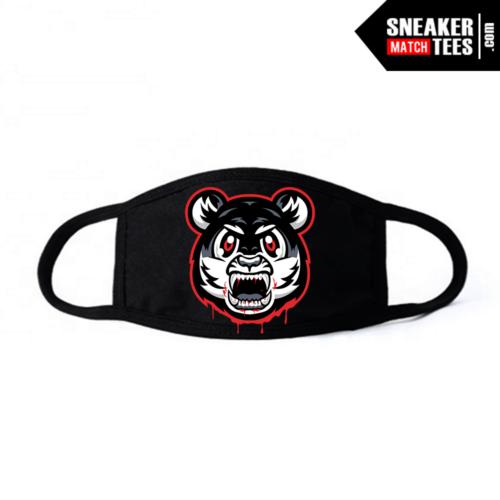 Face Mask Black Bred 11 Tiger Gang