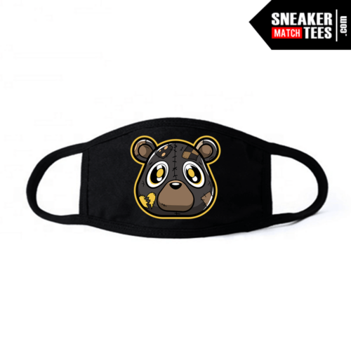 Face Mask Black Cinder Heartless bear