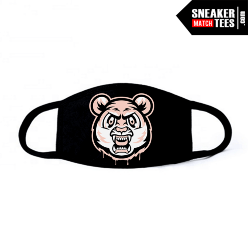 Face Mask Black Crimson Tint 1s Tiger Gang