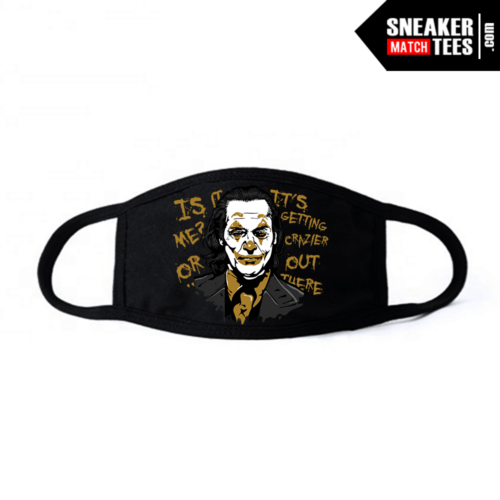Face Mask Black DMP 6s Joker