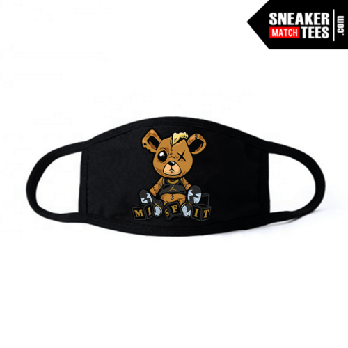 Face Mask Black DMP 6s Misfit Teddy