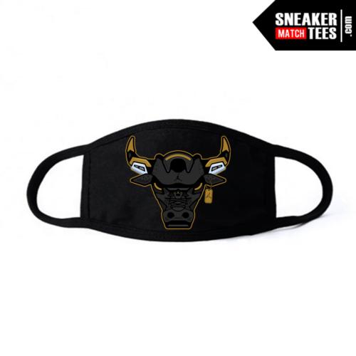 Face Mask Black DMP 6s Rare Air Bull