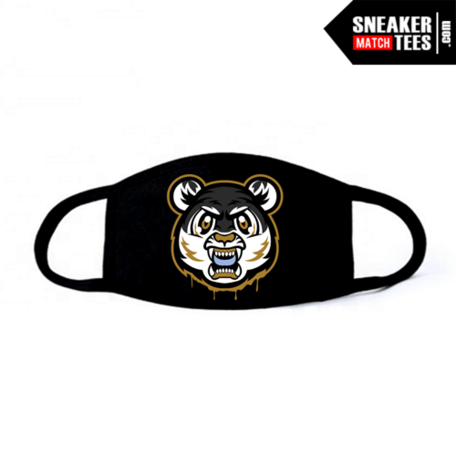 Face Mask Black DMP 6s Tiger Gang