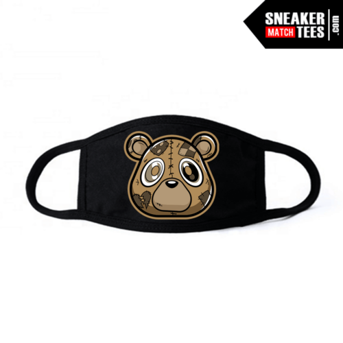 Face Mask Black Earth Yeezy Heartless Bear