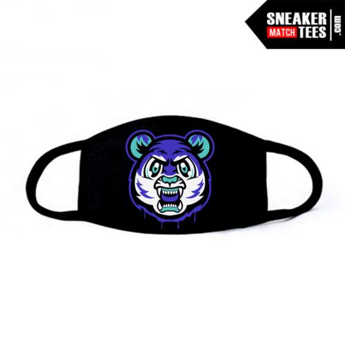 Face Mask Black Grape 5s Tiger Gang