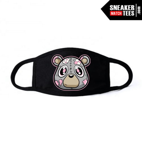 Face Mask Black Hare 7s Heartless Bear