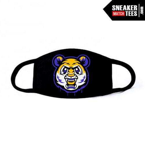 Face Mask Black Laker 13s Tiger Gang