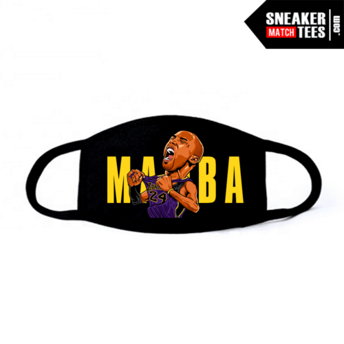 Face Mask Black Mamba Mentality