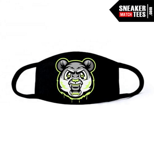 Face Mask Black Neon 4s Tiger Gang