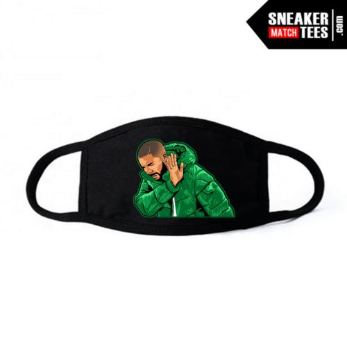 Face Mask Black Pine Green 1s Drake Social Distancing