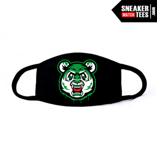 Face Mask Black Pine Green 1s Tiger Gang