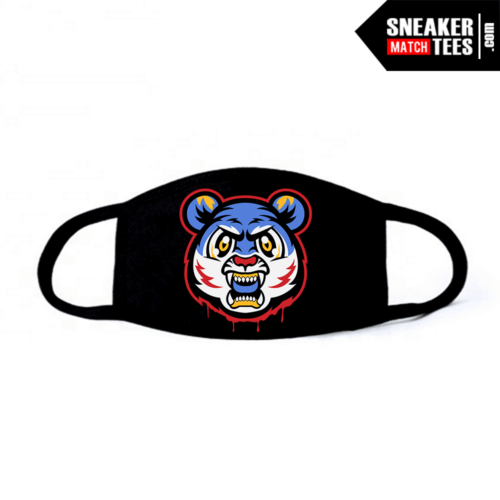Face Mask Black Sacai Ld Waffle Multi Blue Tiger Gang
